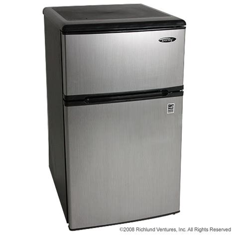New Danby Compact Refrigerator Freezer Freestanding Fridge