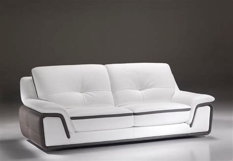 canapé cuir moderne design canapé cuir de fabrication italienne modèle genova
