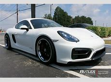 Porsche Cayman with 20in Rennen R55X Wheels exclusively
