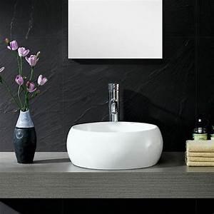 la vasque ronde en 45 photos choisissez la votre With salle de bain design avec vasque blanche ronde