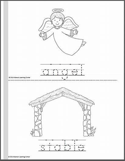 Nativity Coloring Pages Mini Corner Mamaslearningcorner