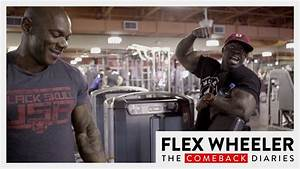Flex Wheeler Training Legs With Kali Muscle 8 Weeks Out From Olympia