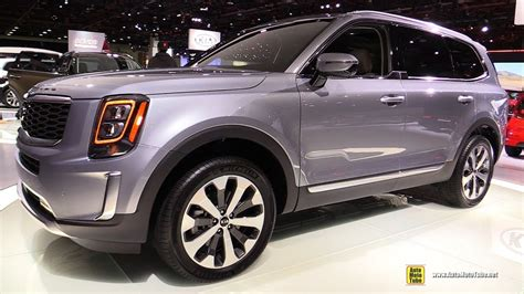 Kia Suv 2020 Telluride Interior by 2020 Kia Telluride Debut Used Car Reviews Review Release