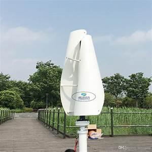 Cheap Vertical Wind Power Generator Low Noise Horizontal