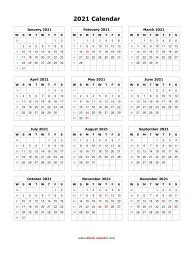 blank calendar   months   page