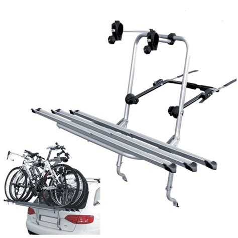 porta bici x auto portabici posteriore auto senza cinghie mod logic 3 bici