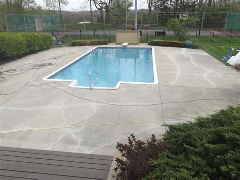 Ohio Outdoor Patio Concrete Flooring Contractor Epoxy