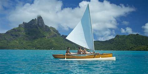 polynesian outrigger canoe