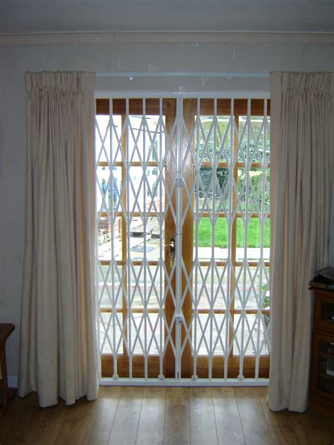 grilles  sliding glass doors