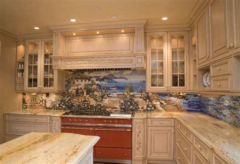Kitchen Backsplash  Mediterranean  Kitchen  Los Angeles