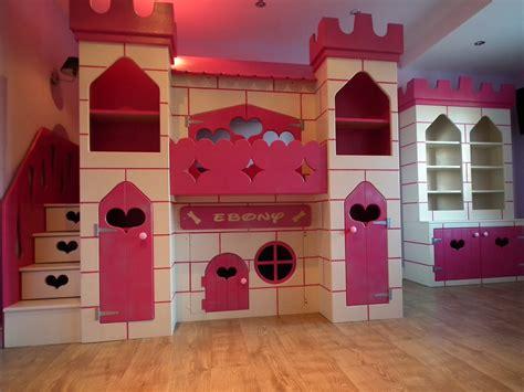 unique nursery castle beds  girls house