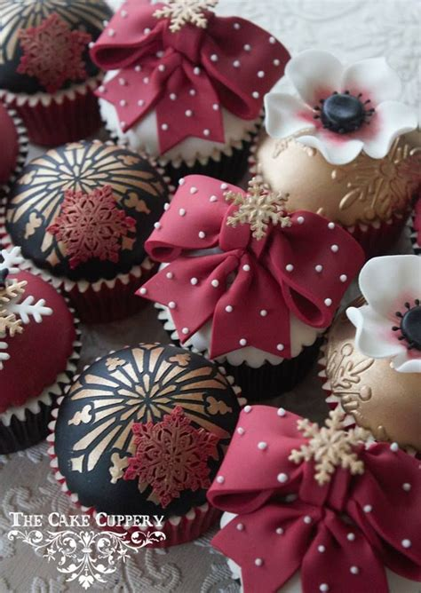 Black Home Decor Accessories by Classy Christmas Decors Cupcakes