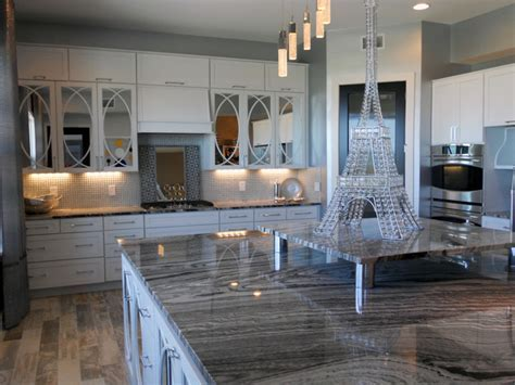 Hollywood Regency Beach House   Traditional   Kitchen