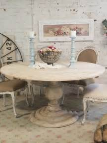 dining table round dining table shabby chic