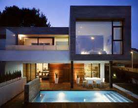 architectural homes 6 semi detached homes united by matching contemporary architecture freshome com