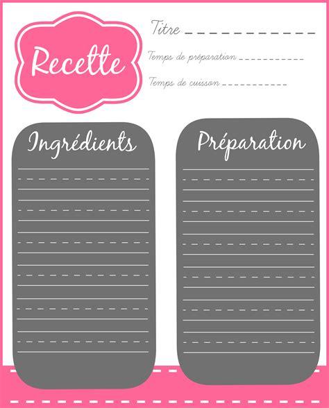 recette de cuisine a imprimer fiche recette à imprimer organizations bullet and planners