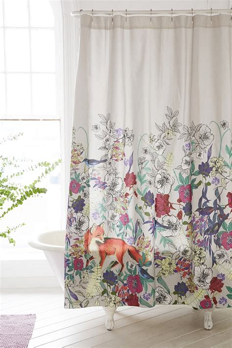 Plum And Bow Curtains by Plum Bow Forest Critters Shower Curtain Outfitters
