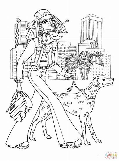 Coloring Pages Teenager Printable Drawing Games Paper