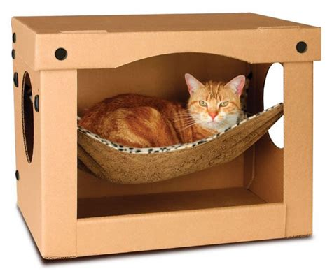cat hammock bed feline design celebrate naptime with these cat beds catster