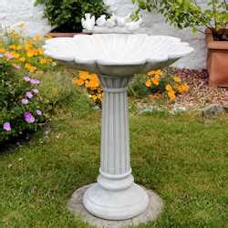 garden stone bird baths  sale  uk  delivery