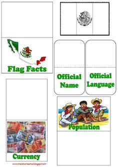 free mexico printables to use for lapbooking notebooking etc school projects