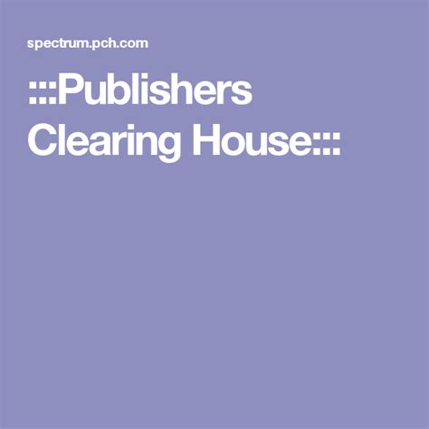 :::Publishers Clearing House::: | come to my door pch ...