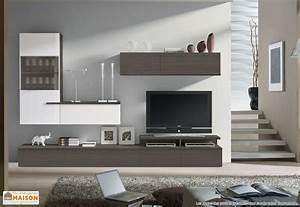 Meuble Cache Tv : meuble bibliotheque cache tv solutions pour la ~ Premium-room.com Idées de Décoration