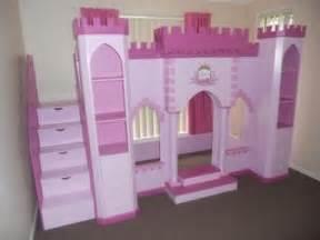 Princess Castle Playhouse Loft Bed