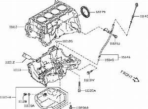 Nissan Rogue Sport Engine Oil Drain Plug  Assembly
