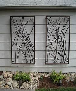 17 best ideas about outdoor wall art on pinterest patio With outside wall art