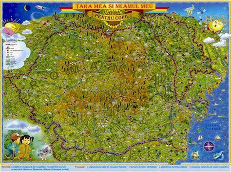 Harta Romaniei in format digital vazuta din Satelit!