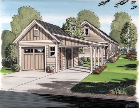 homes with detached garage house plans with photos detached garage