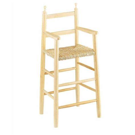 chaise haute b 233 b 233 en bois et paille table de lit