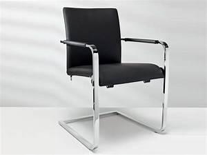 Designer Stühle Leder : freischwinger aus leder mit armlehnen d2 7 kollektion st hle by h lsta werke h ls stoelen ~ Watch28wear.com Haus und Dekorationen