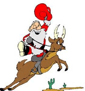 Christmas Cowboy Santa Claus