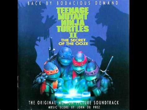 teenage mutant ninja turtles    soundtrack