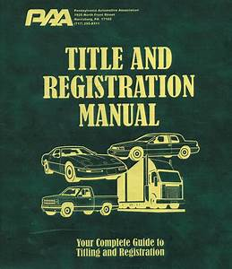 Title And Registration Manual