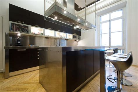 cuisine appartement parisien rénovation d 39 un appartement haussmannien parisien et