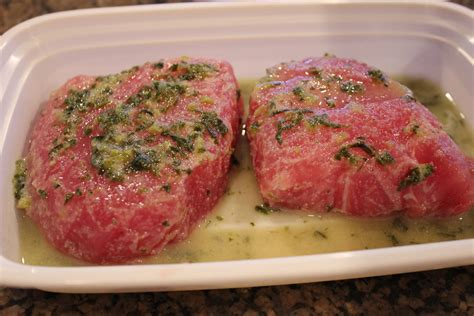 cooking tuna steaks never trust a skinny cook marinated tuna steaks with cucumber sauce