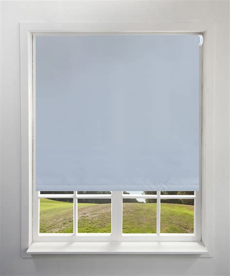 blackout light grey roller blind harry corry limited