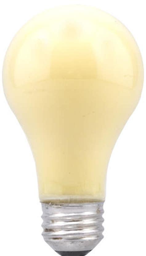 sylvania 60 watt yellow bug light dimmable incandescent