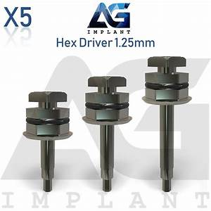 5 Hex Driver 1 25mm Manual Screwdriver Abutment Tool For