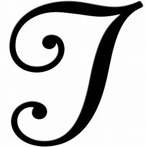 Fancy letter t