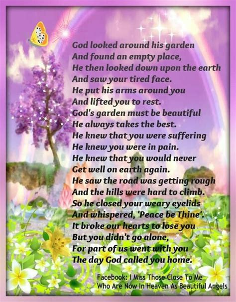 god looked around his garden sayings to keep note
