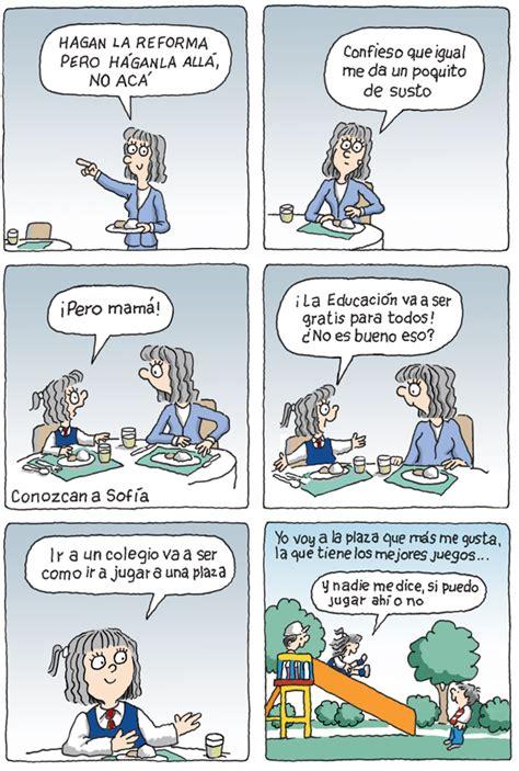 comic la clave de la reforma educativa en chile