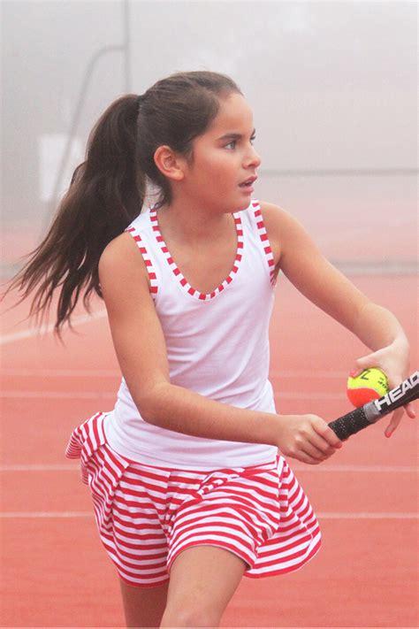 Sorana Tennis Outfit - Junior Tennis Apparel designed by Zoe Alexander UK