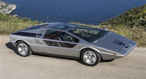 One Of A Kind Maserati Boomerang Conceptcar Offered For Sale