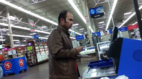 Megio Self Check Out At Walmart