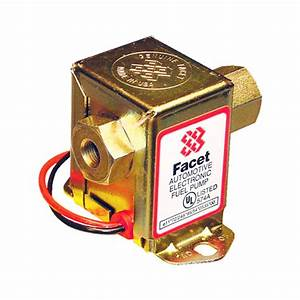 Facet 12v 40109n Solid State Fuel Pump  1  2 Gpm