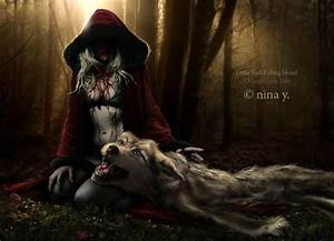 Pics For > Dark Little Red Riding Hood Drawing | Tattoo ...